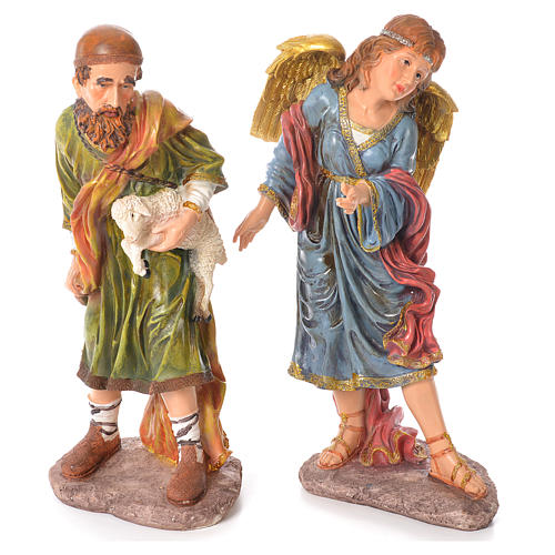 Complete nativity set in resin, 11 figurines 53cm 4