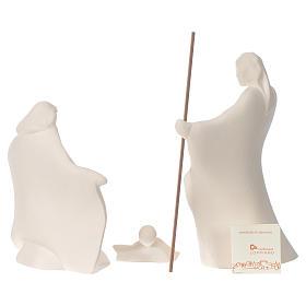 Presepe Giubileo argilla Centro Ave 22 cm s4