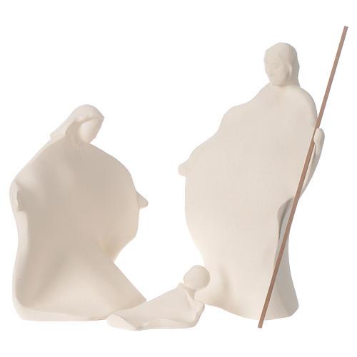 Presepe Giubileo argilla Centro Ave 22 cm 1