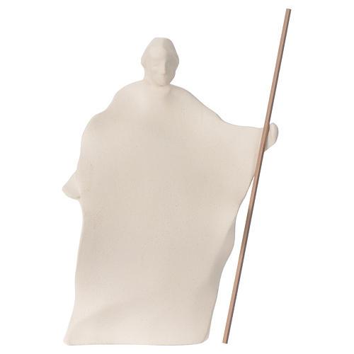 Presepe Giubileo argilla Centro Ave 22 cm 3