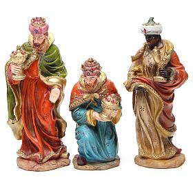 Presepe completo resina cm 20 multicolor 11 statue s4