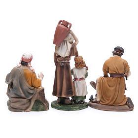 Statue per Presepe resina 22 cm 6 mestieri s4