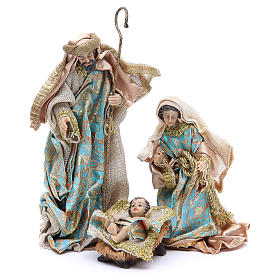 Nativity set in resin, 10 figurines measuring 25cm s2