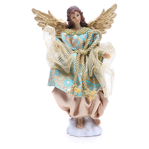 Nativity set in resin, 10 figurines measuring 25cm 3