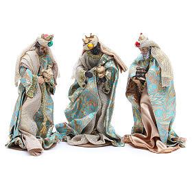 Nativity set in resin, 10 figurines measuring 25cm s4