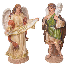 Presepe completo resina 31 cm multicolor 11 statue s4