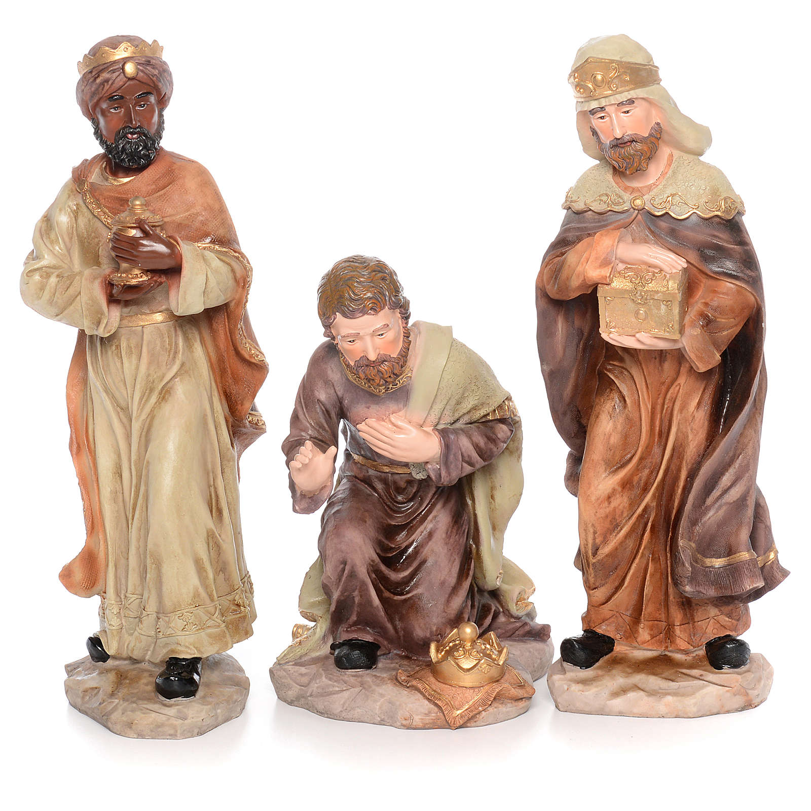 Presepe completo resina cm 50 - 11 statue 4