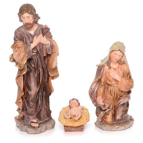Presepe completo resina cm 50 - 11 statue 2