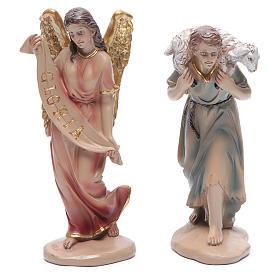 Belén resina 20 cm 11 figuras estilo clásico s3
