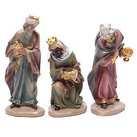 Belén resina 20 cm 11 figuras estilo clásico s4