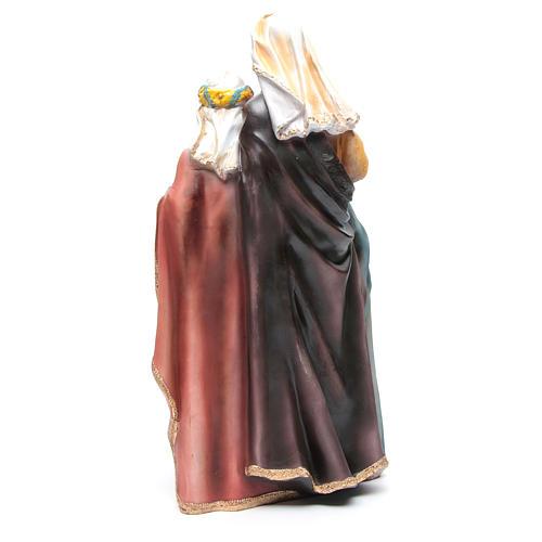 Crèche résine 6 santons 50 cm 3