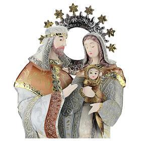 Maria José Jesus estilizados presépio metal s2