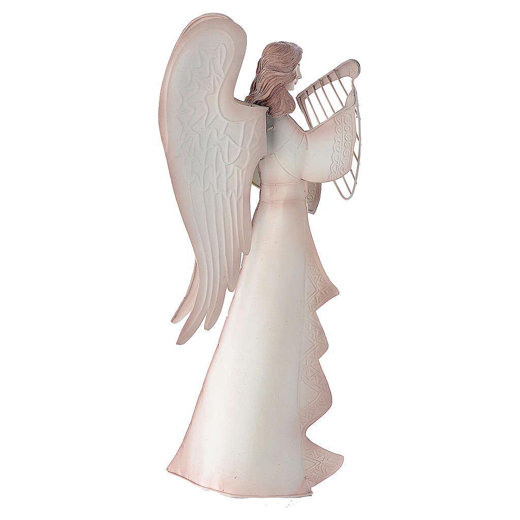 Spielende Engeln 2St. aus Metall 4