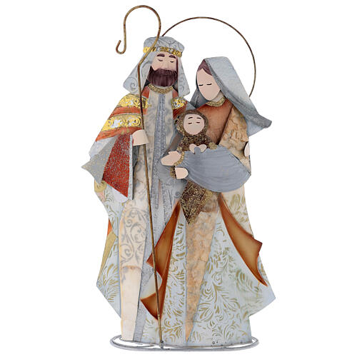 Natividade estilizada presépio metal 1