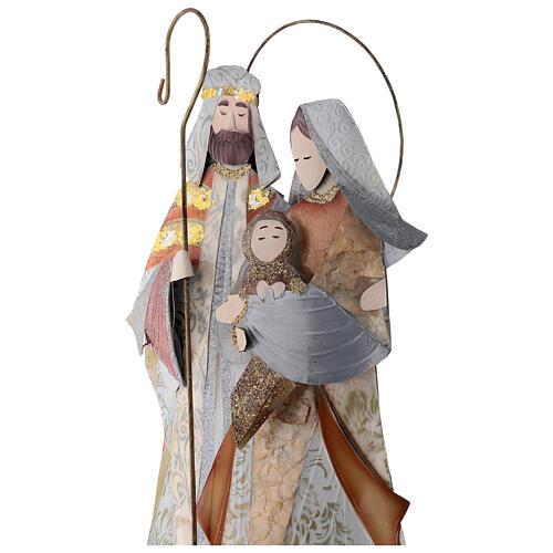 Natividade estilizada presépio metal 2