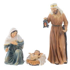 Presepe resina 20,5 cm - 8 statue s2