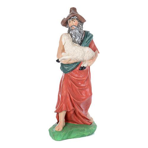 Presepe 9 statue cm 95 in vetroresina dipinta 5