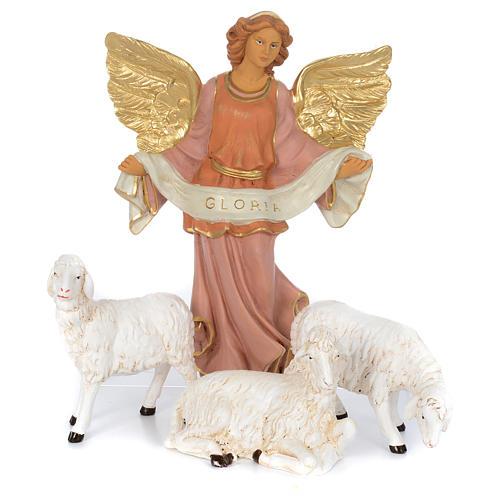 Pastores pesebre 10 figuras goma 40 cm 5