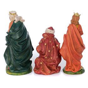 Set of 8 rubber statues 40 cm s4