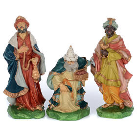 Resin nativity scene set 9 pieces 65 cm s3