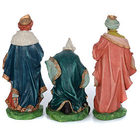 Resin nativity scene set 9 pieces 65 cm s4