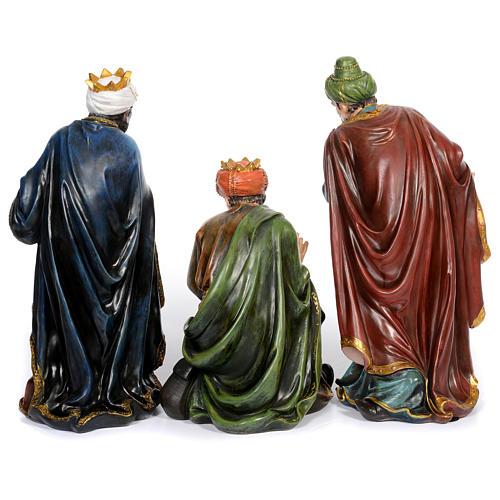 Presépio Completo 11 figuras Resina Pintada 61 cm 4