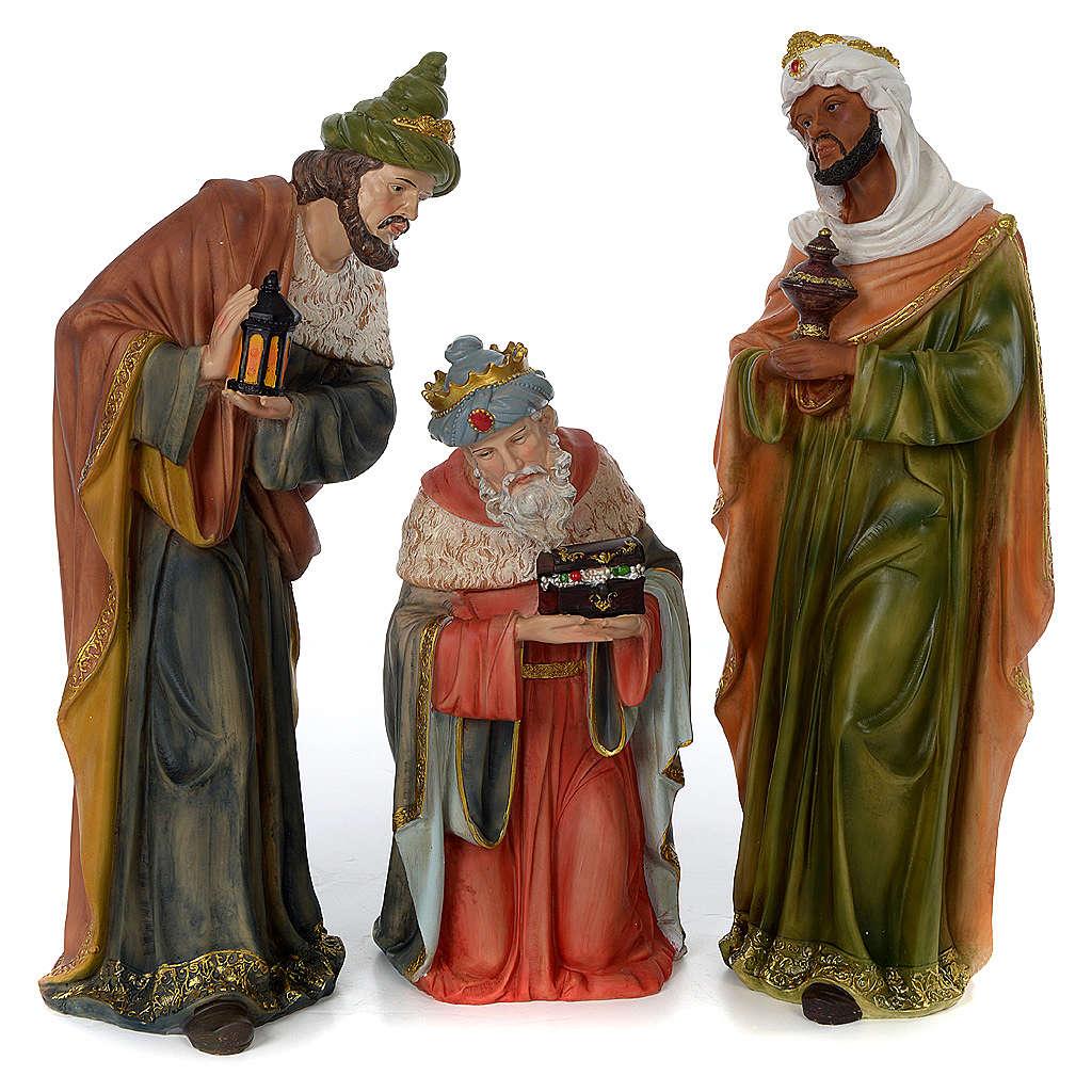 Presépio Completo Resina Pintada, 11 Figuras Altura Média 60 cm 4