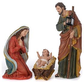 Presépio Completo Resina Pintada, 11 Figuras Altura Média 60 cm s17