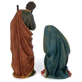 Presépio Completo Resina Pintada, 11 Figuras Altura Média 60 cm s23