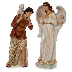 Presépio Completo Resina Pintada, 11 Figuras Altura Média 60 cm s4