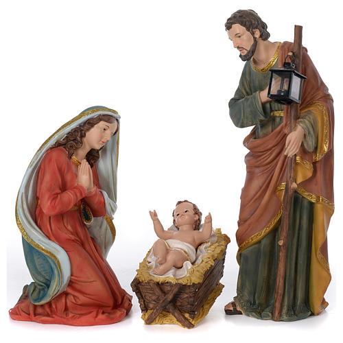 Presépio Completo Resina Pintada, 11 Figuras Altura Média 60 cm 17