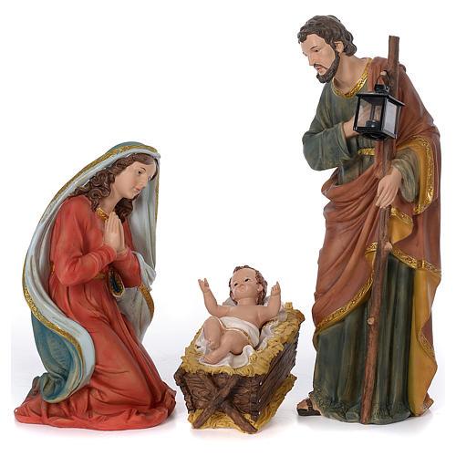 Presépio Completo Resina Pintada, 11 Figuras Altura Média 60 cm 3