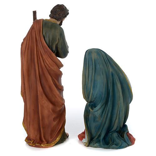 Presépio Completo Resina Pintada, 11 Figuras Altura Média 60 cm 9