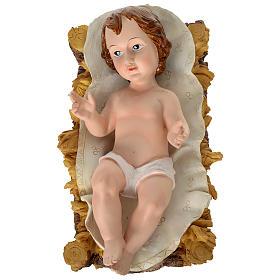 Presépio de Natal 11 Figuras Resina Pintada Altura Média 80 cm s2