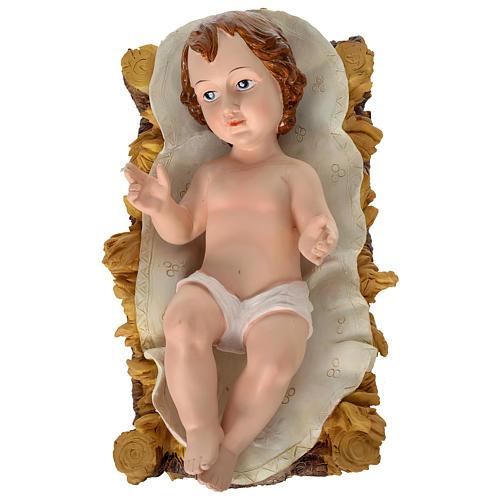 Presépio de Natal 11 Figuras Resina Pintada Altura Média 80 cm 2