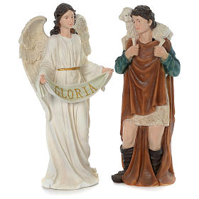 Resin Nativity Scene 80 cm, 11 painted figurines s4