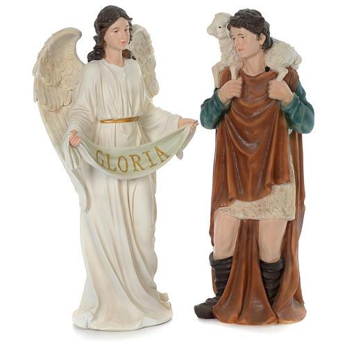 Resin Nativity Scene 80 cm, 11 painted figurines 4
