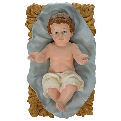 Presépio 100 cm Resina Pintada 11 Figuras 2