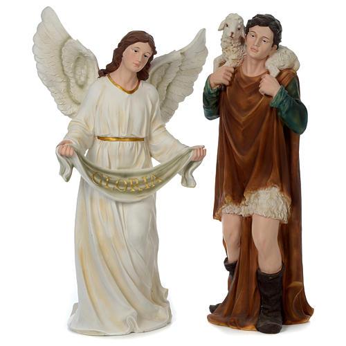Presépio 100 cm Resina Pintada 11 Figuras 4