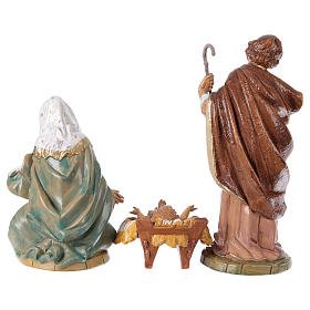 Complete Nativity Scene 30cm, 8 traditional style figurines s5