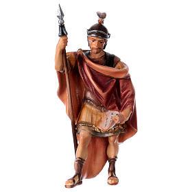 Belén Val Gardena: Soldado romano belén Original madera pintada Val Gardena 10 cm de altura media