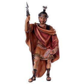 Belén Val Gardena: Soldado romano belén Original madera pintada Val Gardena 12 cm de altura media
