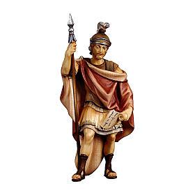 Soldato romano presepe Original legno dipinto Valgardena 12 cm s1