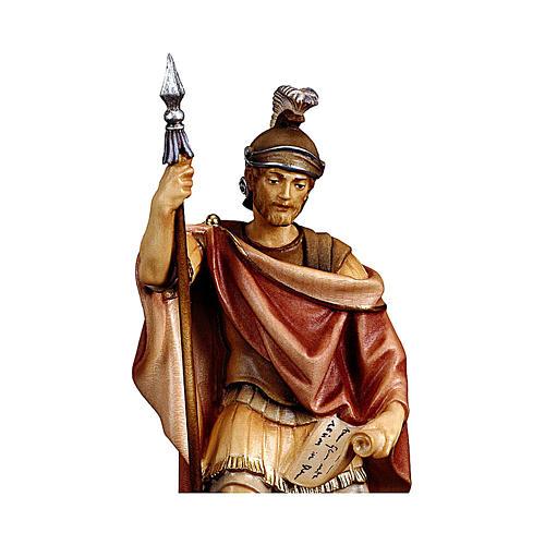 Soldato romano presepe Original legno dipinto Valgardena 12 cm 2