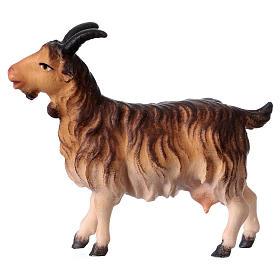 Belén Val Gardena: Cabra belén Original madera pintada Val Gardena 12 cm de altura media