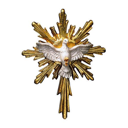 Spirito Santo presepe Original legno dipinto Valgardena 10 cm 1