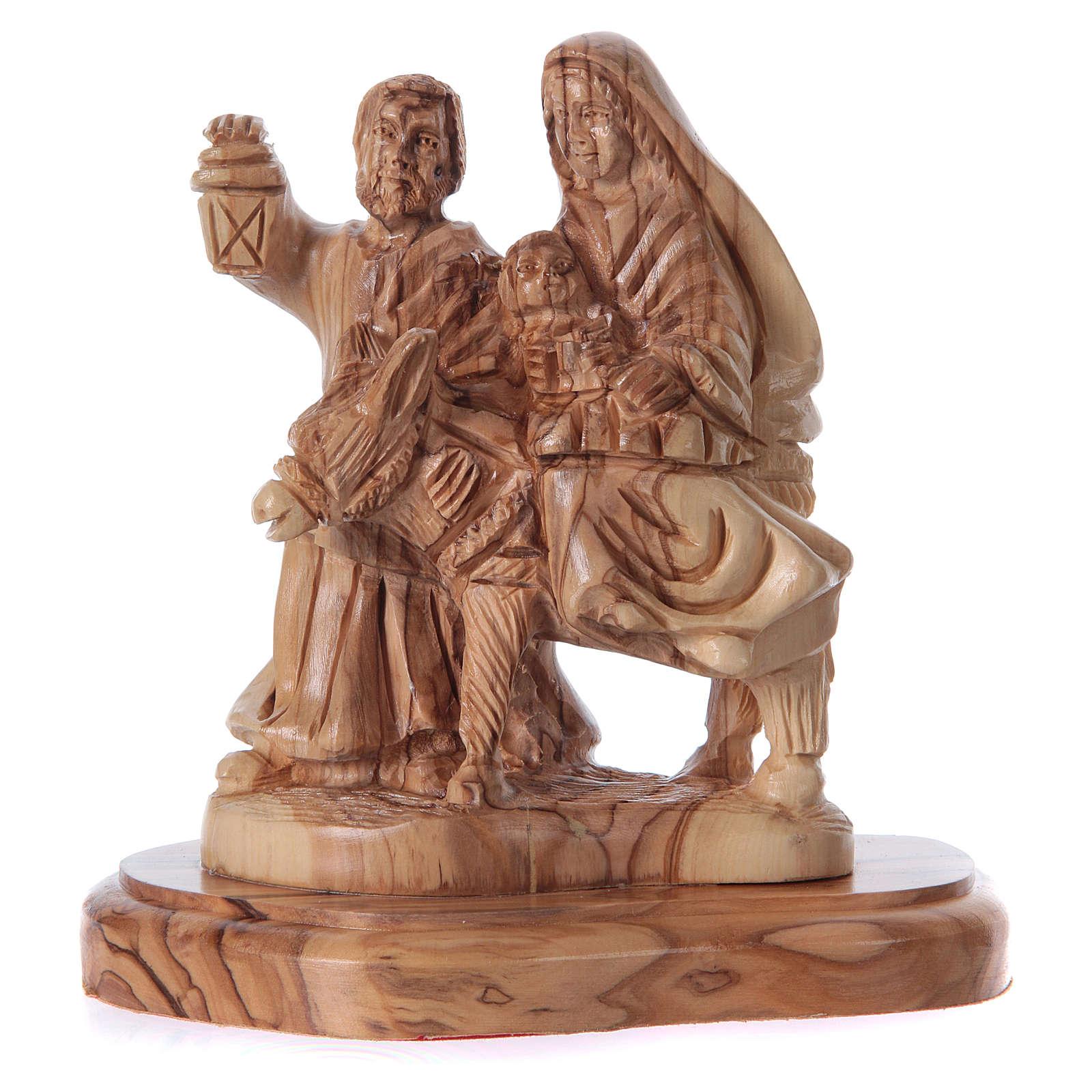 Estatua Natividad olivo de Belén 20 cm 4