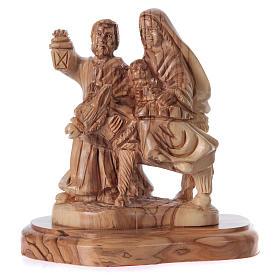 Statua Natività ulivo di Betlemme 20 cm s5