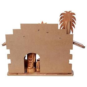 Presépio completo oliveira de Belém altura média das figuras 22 cm com cabana 30x40x25 cm s6