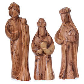 Set Presepe stilizzato ulivo di Betlemme 29 cm s3